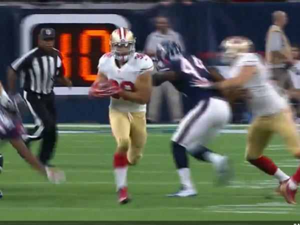 Hayne shines in NFL trial game