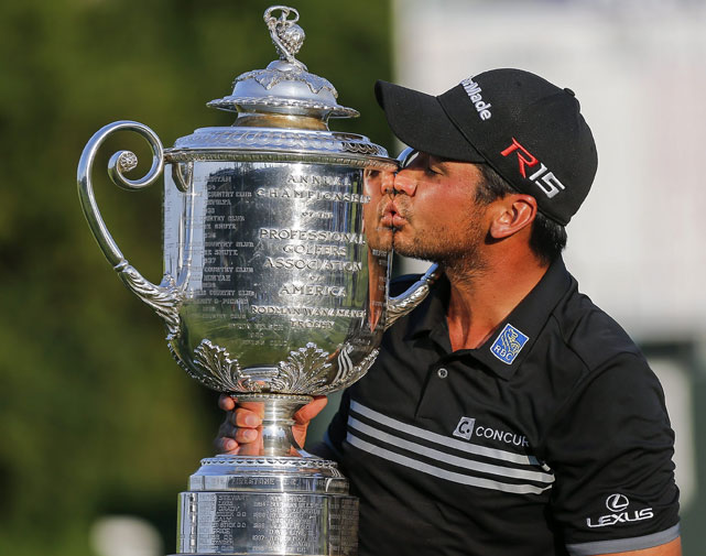 <b>Australia's Jason Day has finally got the majors' monkey off his back, claiming the US PGA Championship in emphatic style.</b><br/><br/>Day finished the four rounds at 20 under par - three ahead of second placed Jordan Speith - to shoot a record low score at a major championship.<br/><br/>He joins 10 other Australian major champions and has become the 5th Aussie to lift the Wanamaker trophy.<br/><br/>Relive the highlight's of Jason's magic and emotional day at Whistling Straits.