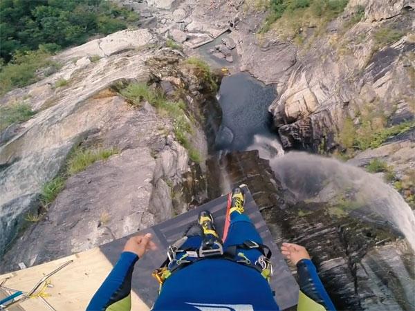Canyoneer sets heart-stopping world record
