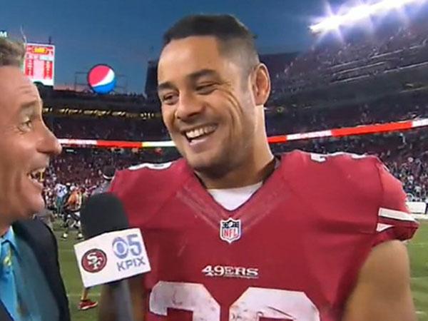 I don't play quarterback: Hayne