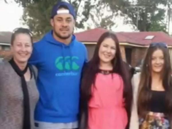 We never thought Jarryd would try NFL
