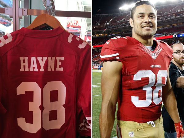 Hayne jerseys selling like hot cakes