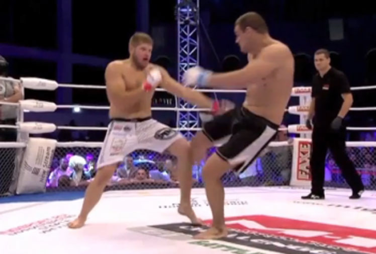 <b>MMA is a brutal sport at the best of times, but there's nothing more sickening than a horror leg break.</b><br/><br/>Croatian fighter Ante Delija has become the latest fighter to suffer a shocking break, snapping his tibia after throwing a leg kick during a recent fight with Polish rival Marcin Tybura. Delija overbalanced after the break and couldn't avoid trying to stand on the leg, causing it to twist at a grotesque angle. <br/><br/>Tybura, who was unaware of the injury, then jumped on top of his rival before the bout was stopped.<br/><br/>Check out how the incident compares to some of the sport's most gruesome.<br/>