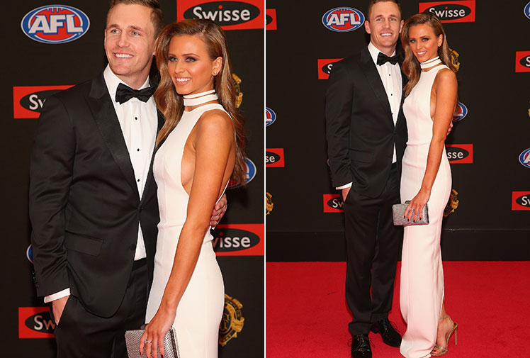 <b>Nat Fyfe has held off a late charge from reigning champion Matt Priddis to win Fremantle's first Brownlow Medal.</b><br/><br/>Fyfe, the pre-count favourite heading into the ceremony, got off to a flyer early before a nervous wait ensued as injuries hit late in the season.<br/><br/>Despite Eagle Priddis making a strong move, Fyfe was declared the winner in the penultimate round of voting.<br/><br/>The thrilling vote capped another spectacular night at Crown Casino where the red carpet was awash with glamour and style.<br/> <br/>