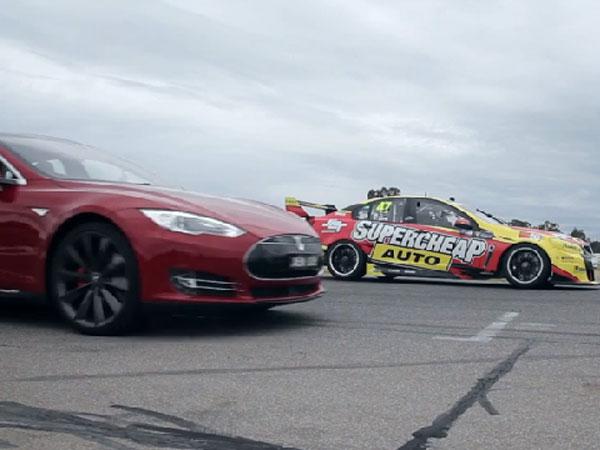 Aussie pride on the line in sedan drag race
