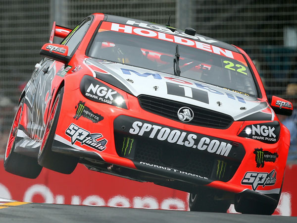 Courtney marks V8s return with win