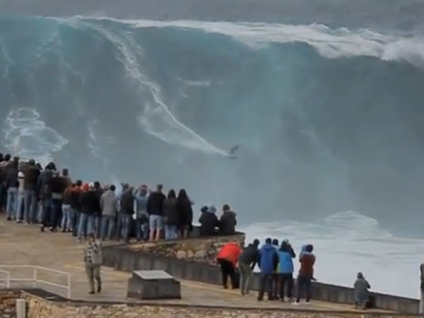 Big wave season opens with a bang in Europe