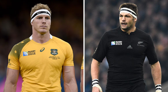 David Pocock v Richie McCaw
