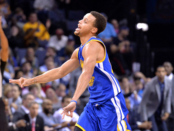 Steph Curry. (AAP)