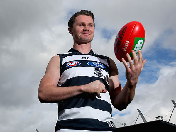 Gun Geelong recruit Patrick Dangerfield. (Getty)