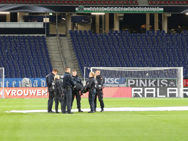 Germany-Holland game cancelled after terror plot