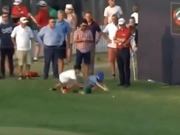 Kaymer loses ball to small thieves