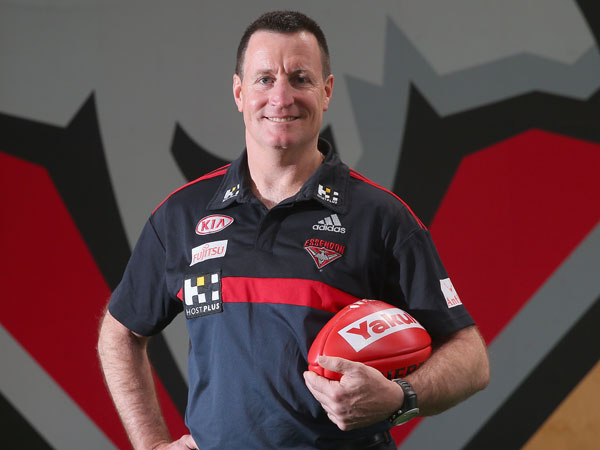 Essendon coach John Worsfold. (Getty)