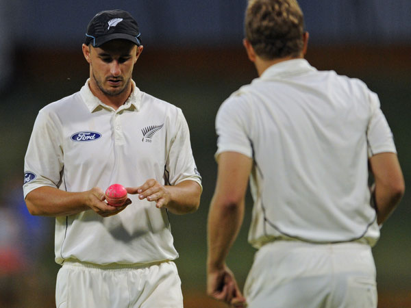 New Zealand expect the new pink ball to force a number of tactical changes. (AFP)