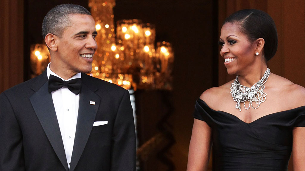 Barack and Michelle Obama. (AAP)