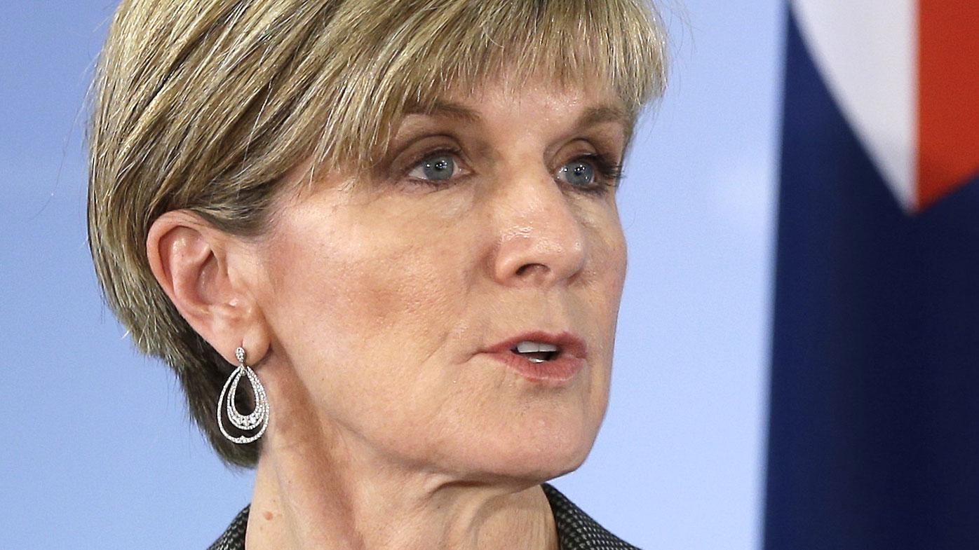 Julie Bishop reveals position on same-sex marriage