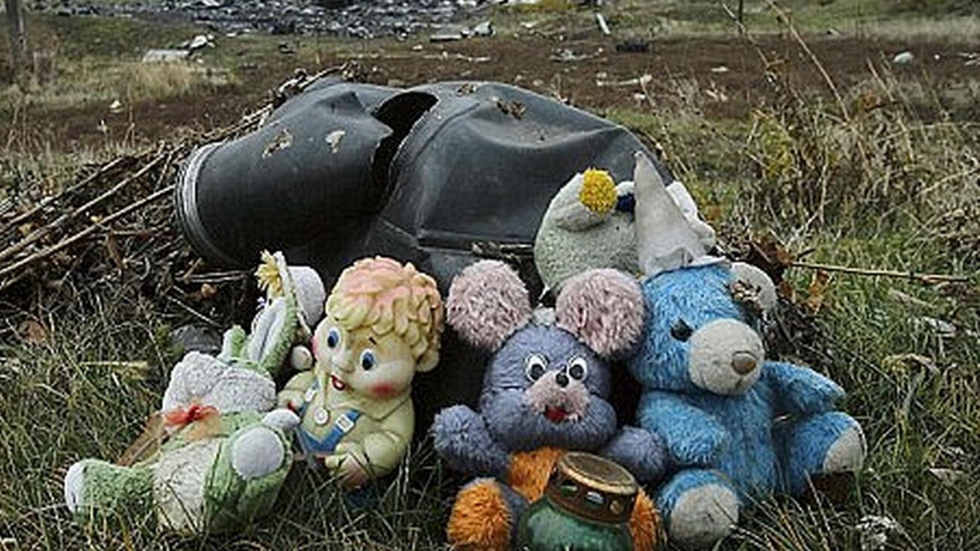 All 298 people on board were killed. (AAP)