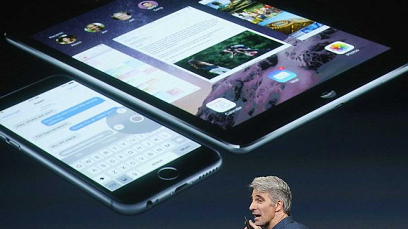 Sales of iPads saw a 56 percent drop in revenues. (Supplied)