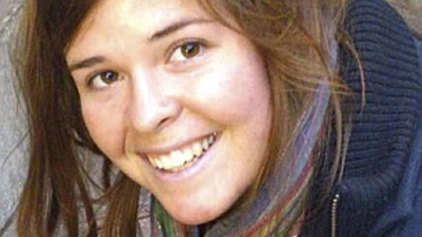Kayla Mueller before her kidnapping.