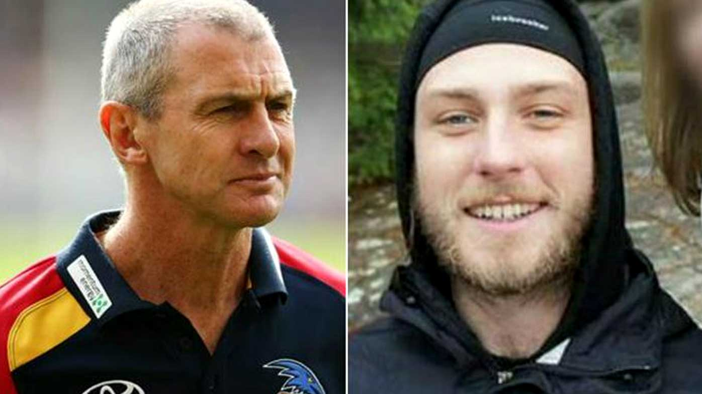 Cy Walsh pleads not guilty by reason of mental incompetence to murder of father and former Adelaide Crows coach Phil Walsh