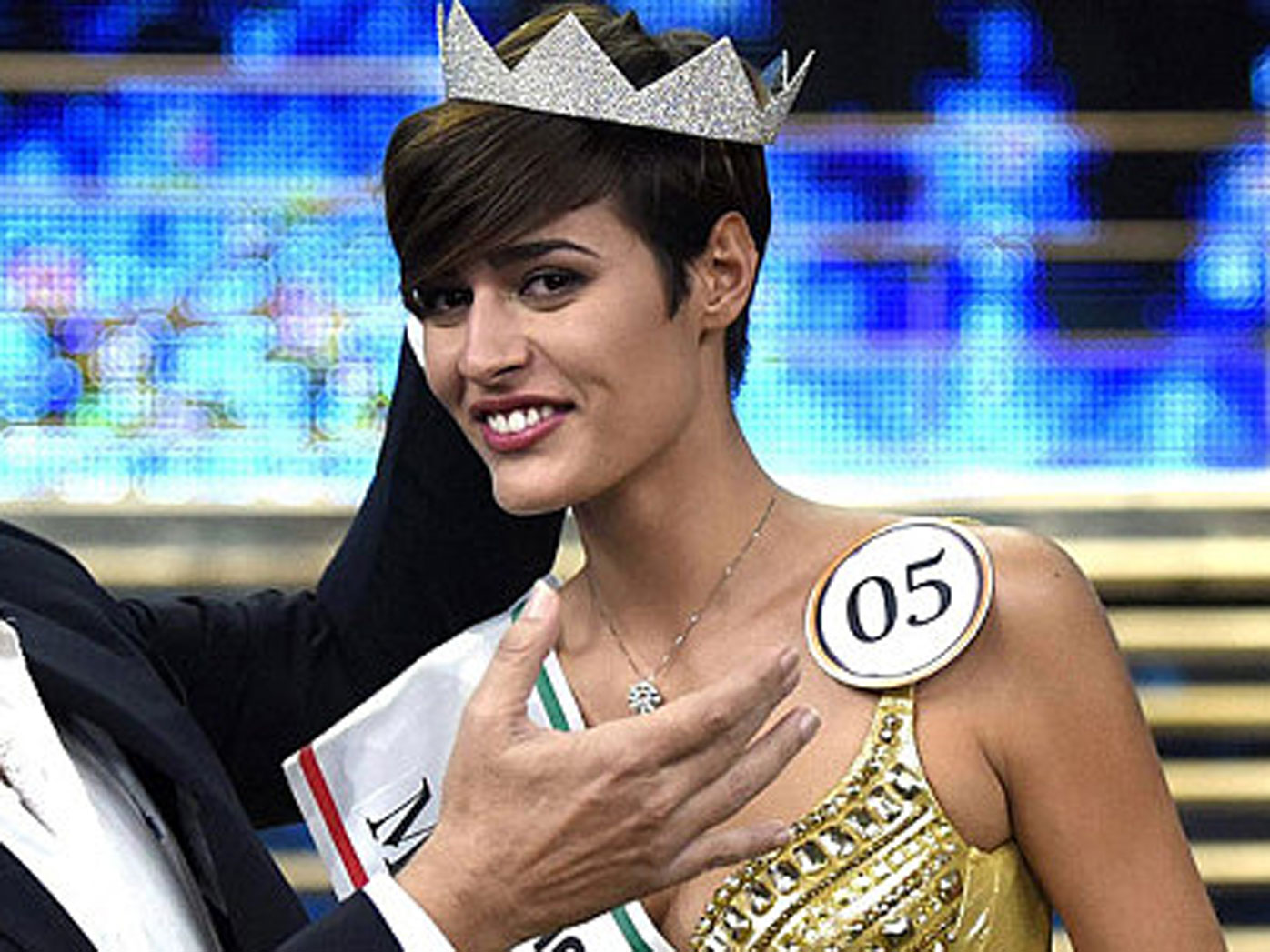 Miss Italia 2015 Alice Sabatini.