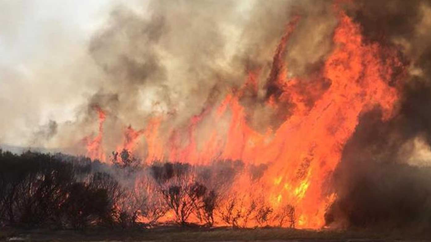 The Esperance bushfire. (9NEWS)