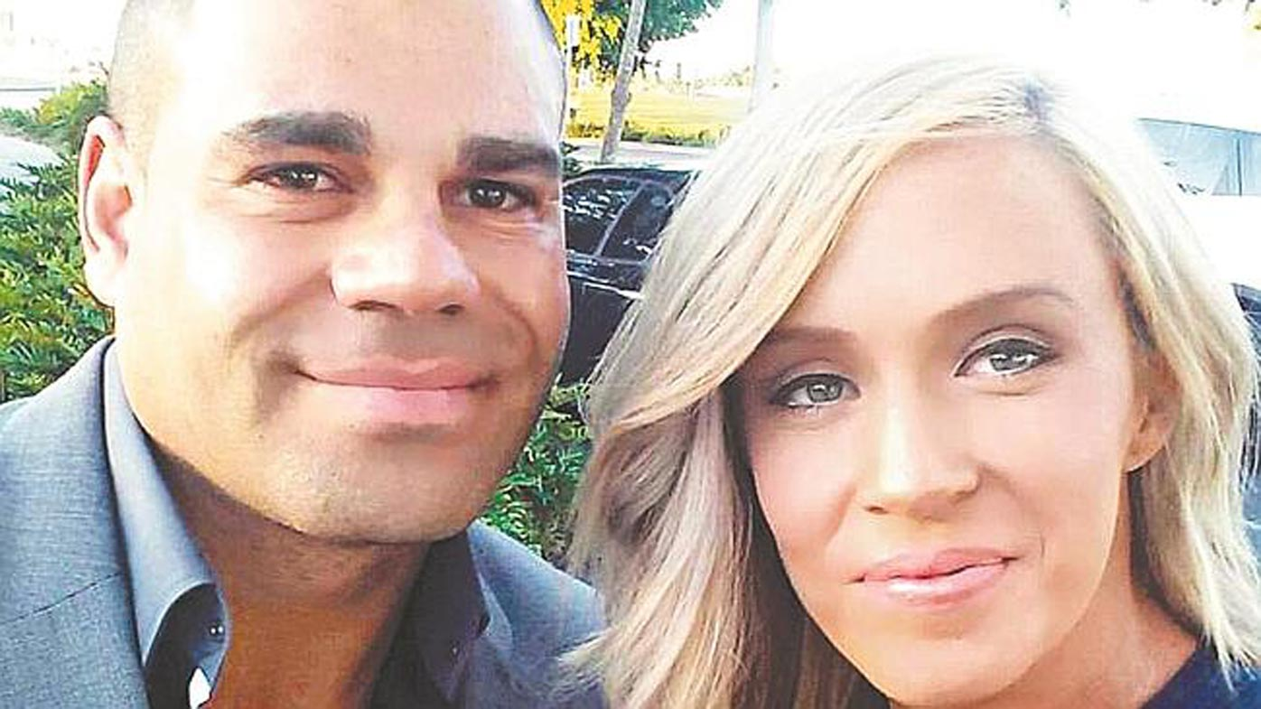 Ex-AFL player's partner lost 1L of blood
