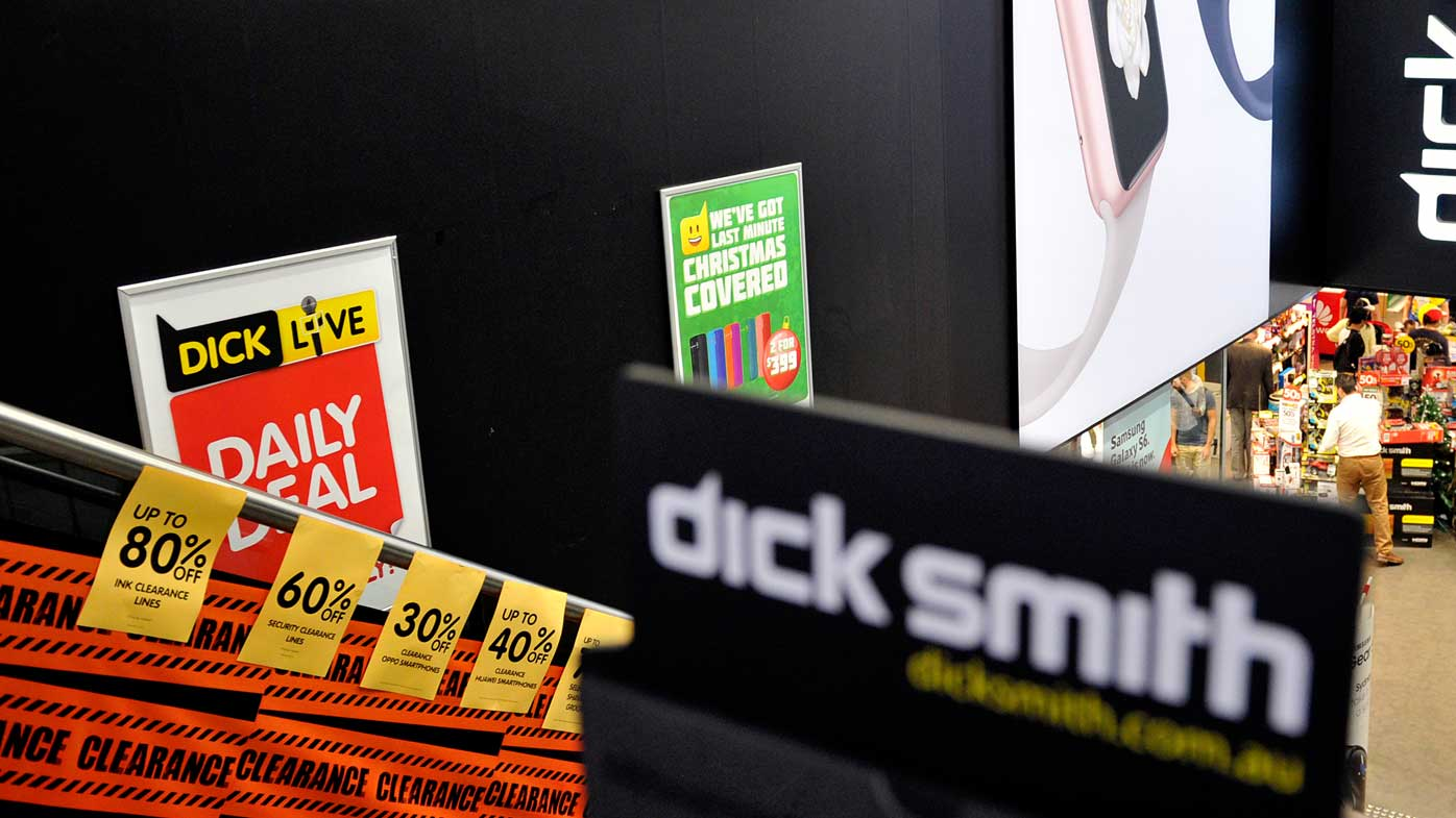 Electronics retailer Dick Smith in voluntary administration after bankers call in receiver