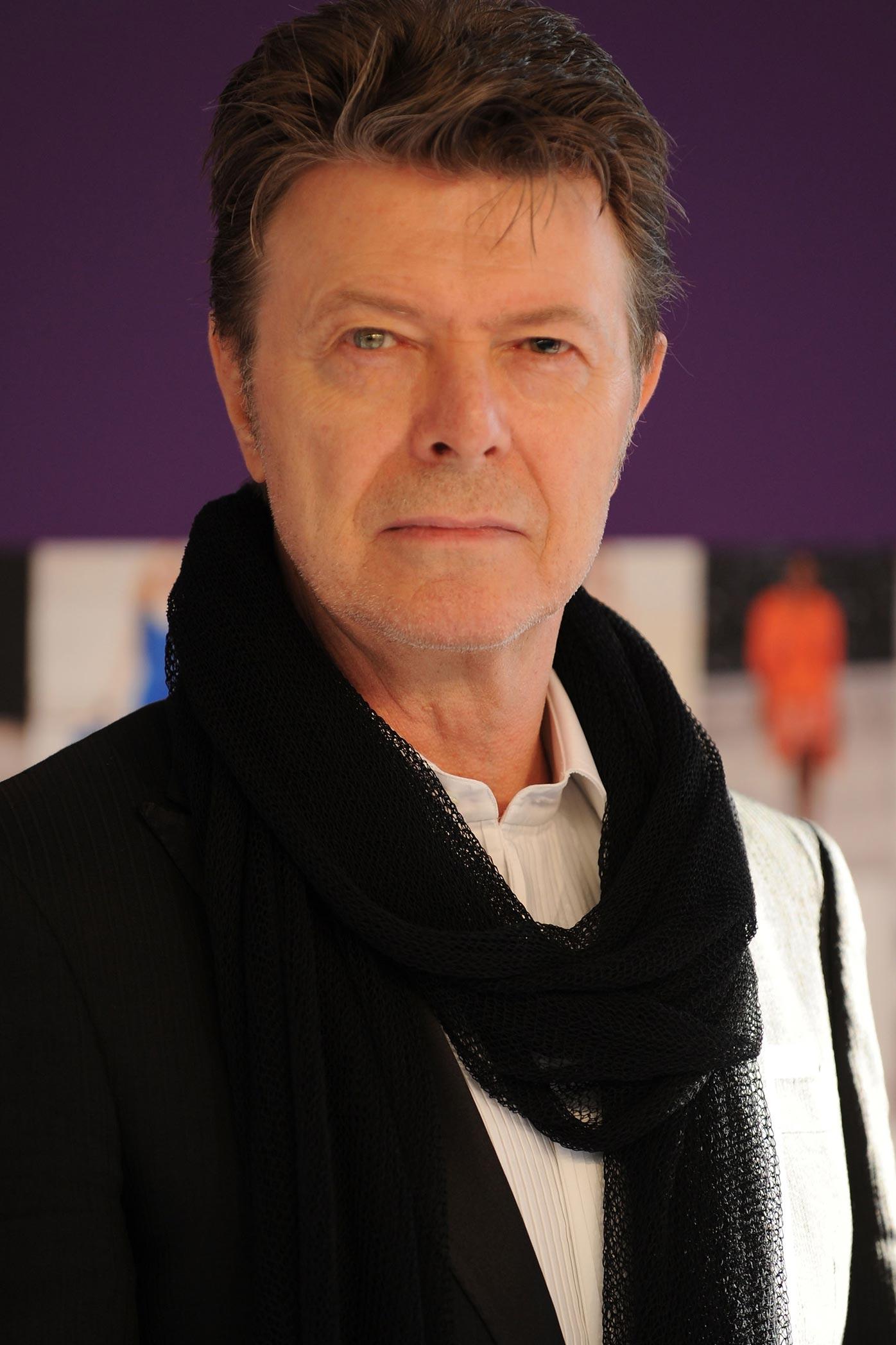 Bowie's last album, Blackstar, was released last Friday.