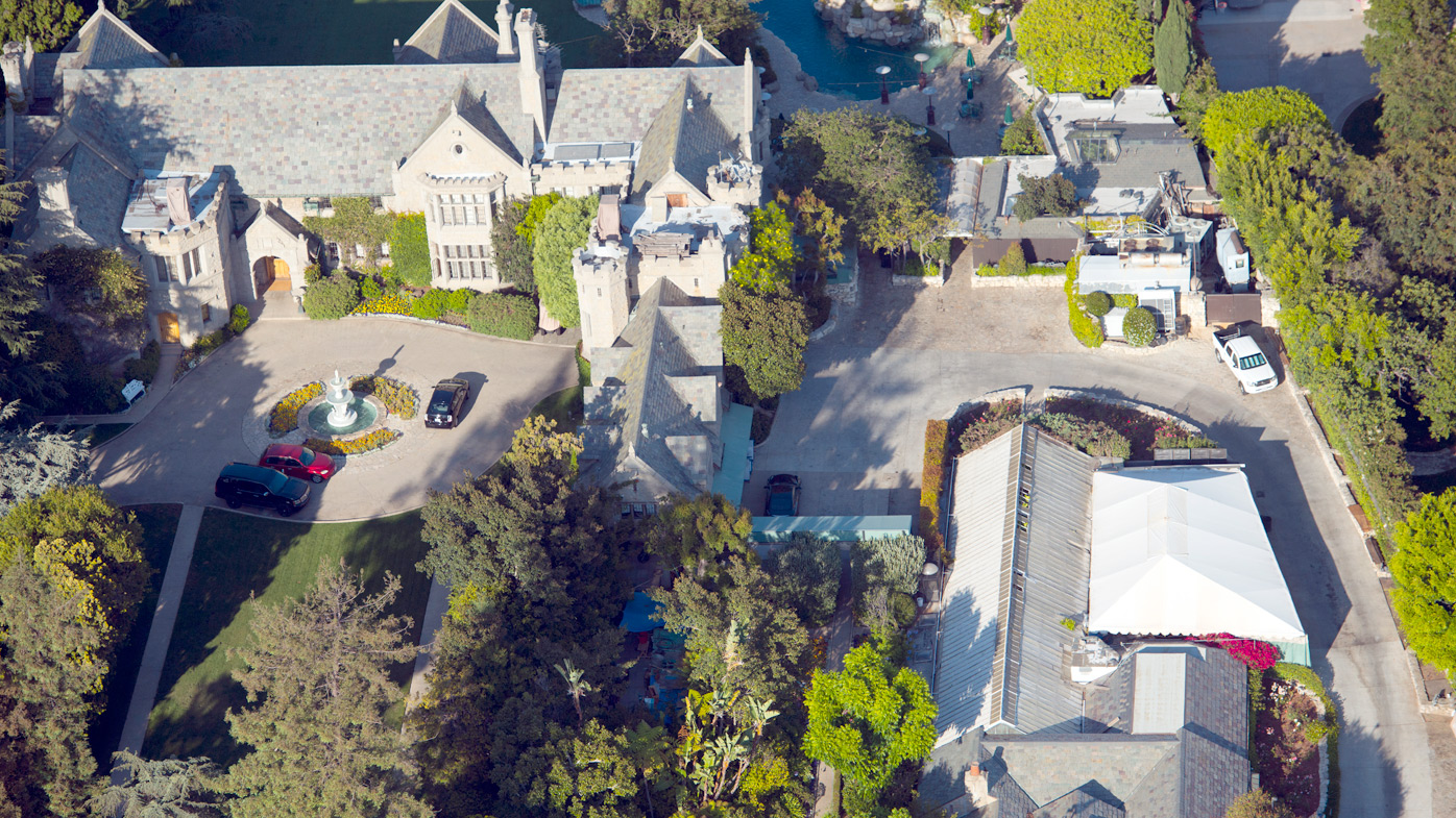 The Playboy mansion. (Supplied)