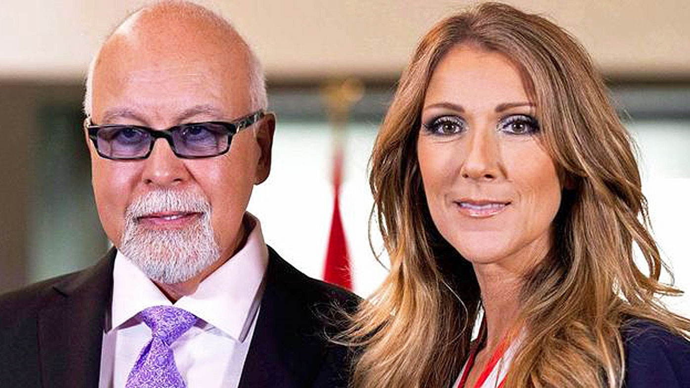 Hundreds join Celine Dion in honoring late husband