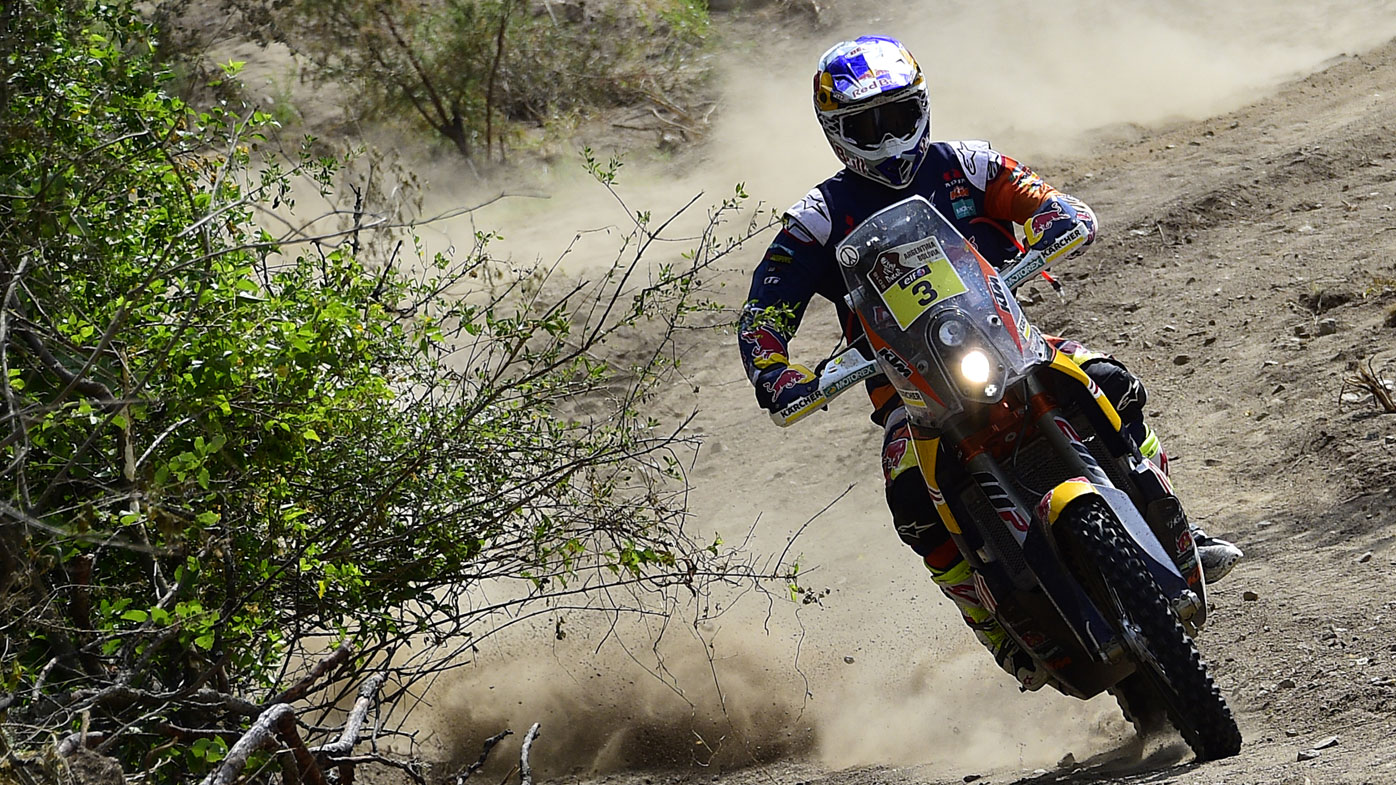 Toby Price becomes first Australian to win the Dakar Rally