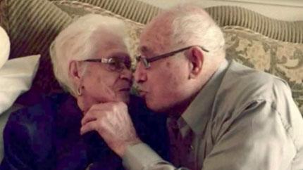 US couple celebrate 82nd wedding anniversary and husband's 102nd birthday