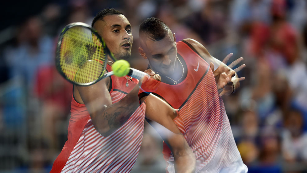 Kyrgios progresses to Open third round