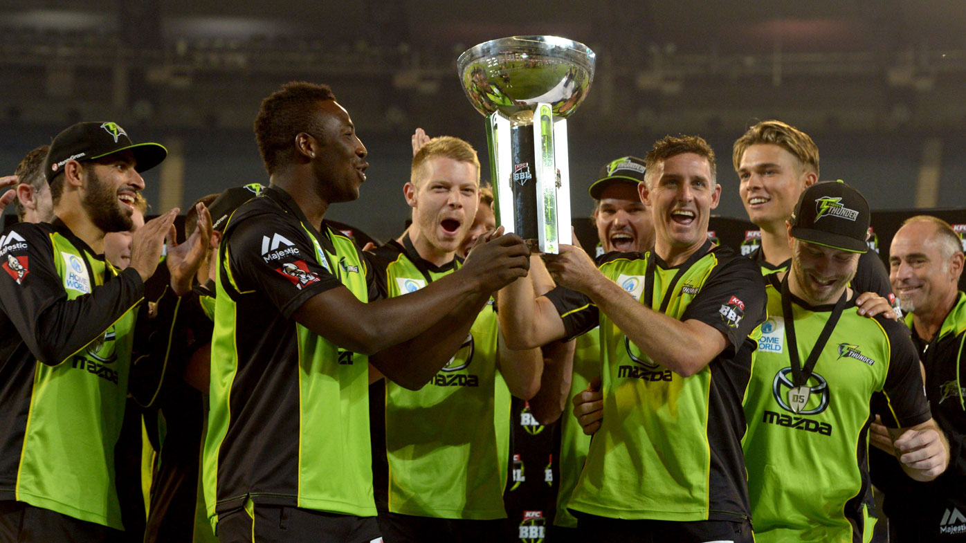 Sydney Thunder defeat Melbourne Stars to claim first BBL final