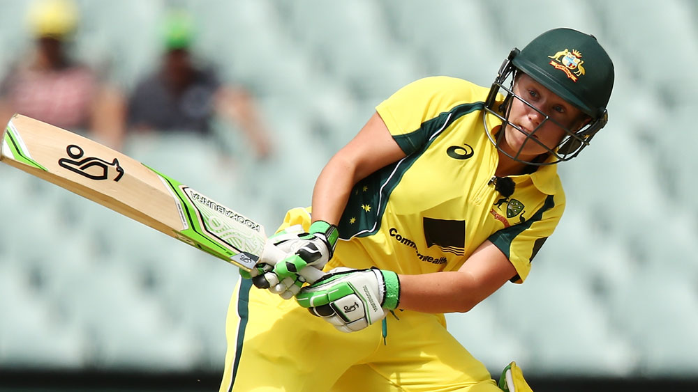 Alyssa Healy hit an extraordinary 41 off 15 balls. (Getty)