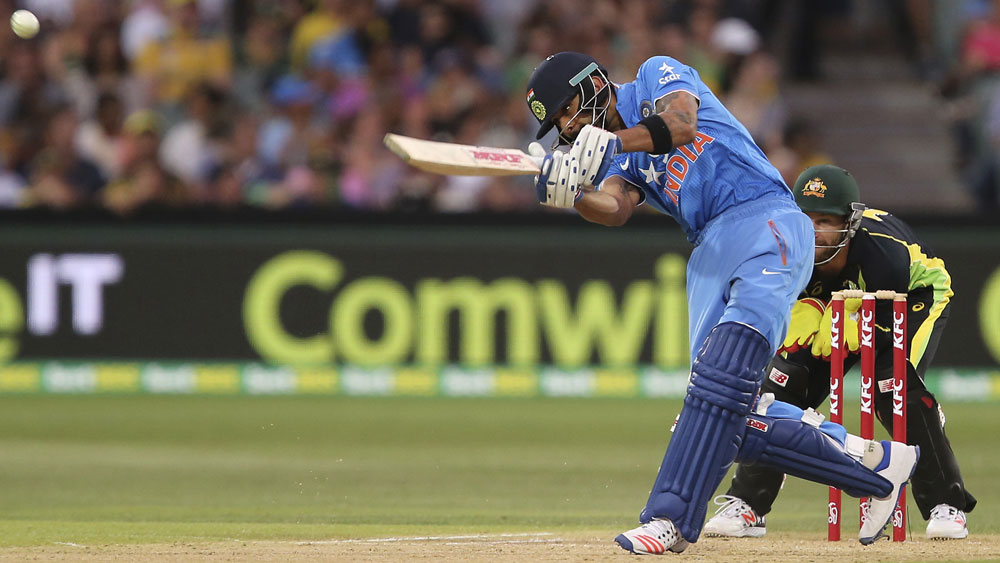 India triumph over Australia in first T20 game in Adelaide
