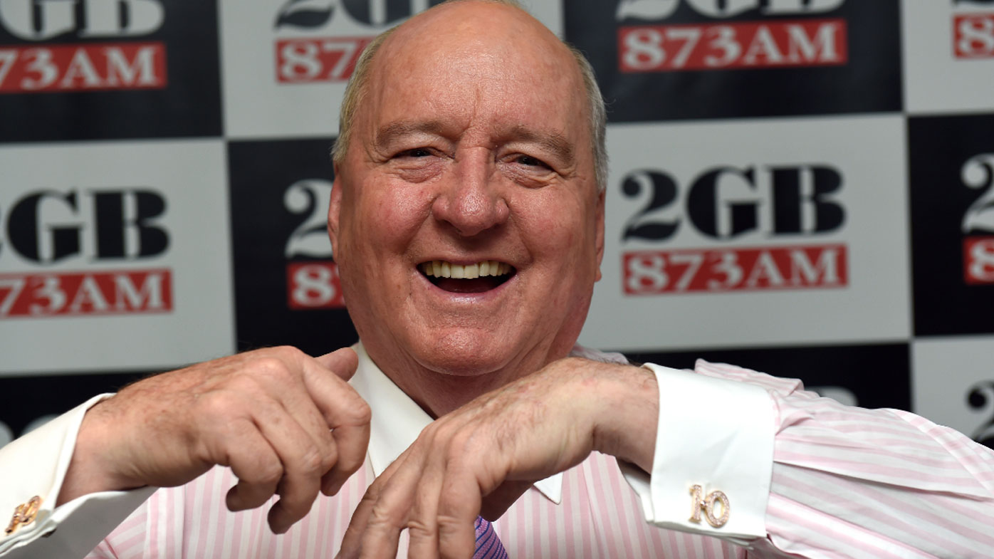 Broadcaster Alan Jones still in hospital battling 'serious infection'