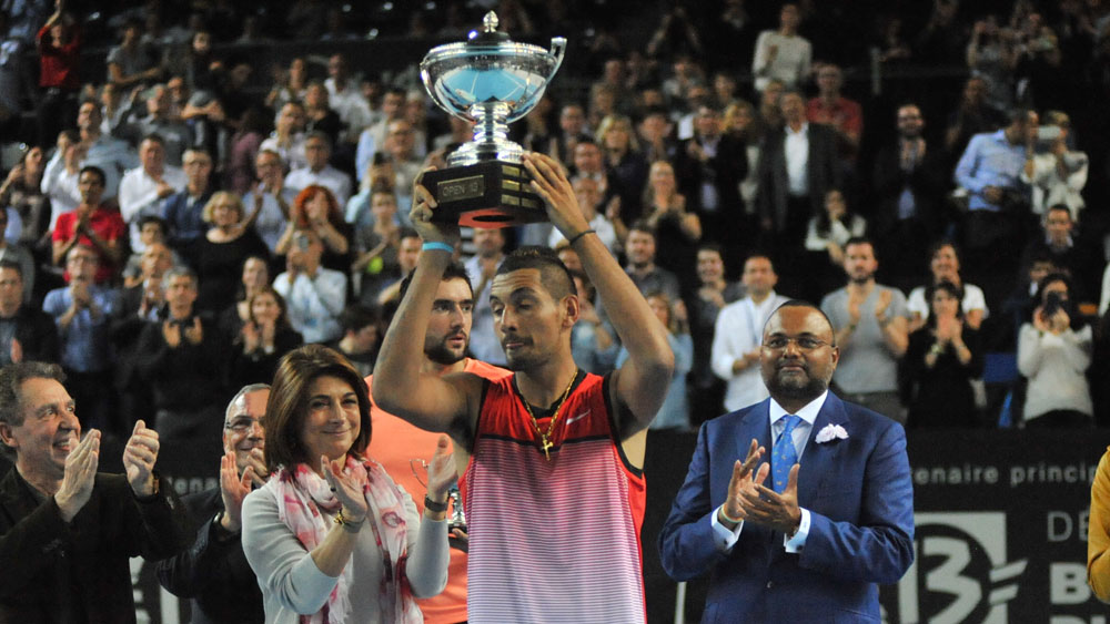 Kyrgios lands maiden ATP title