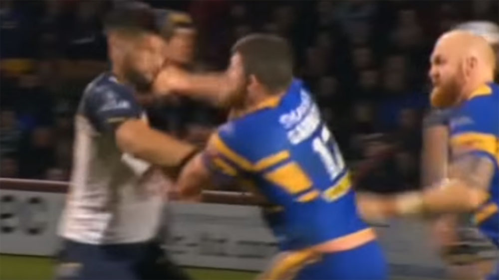Garbutt sorry for Tamou punch