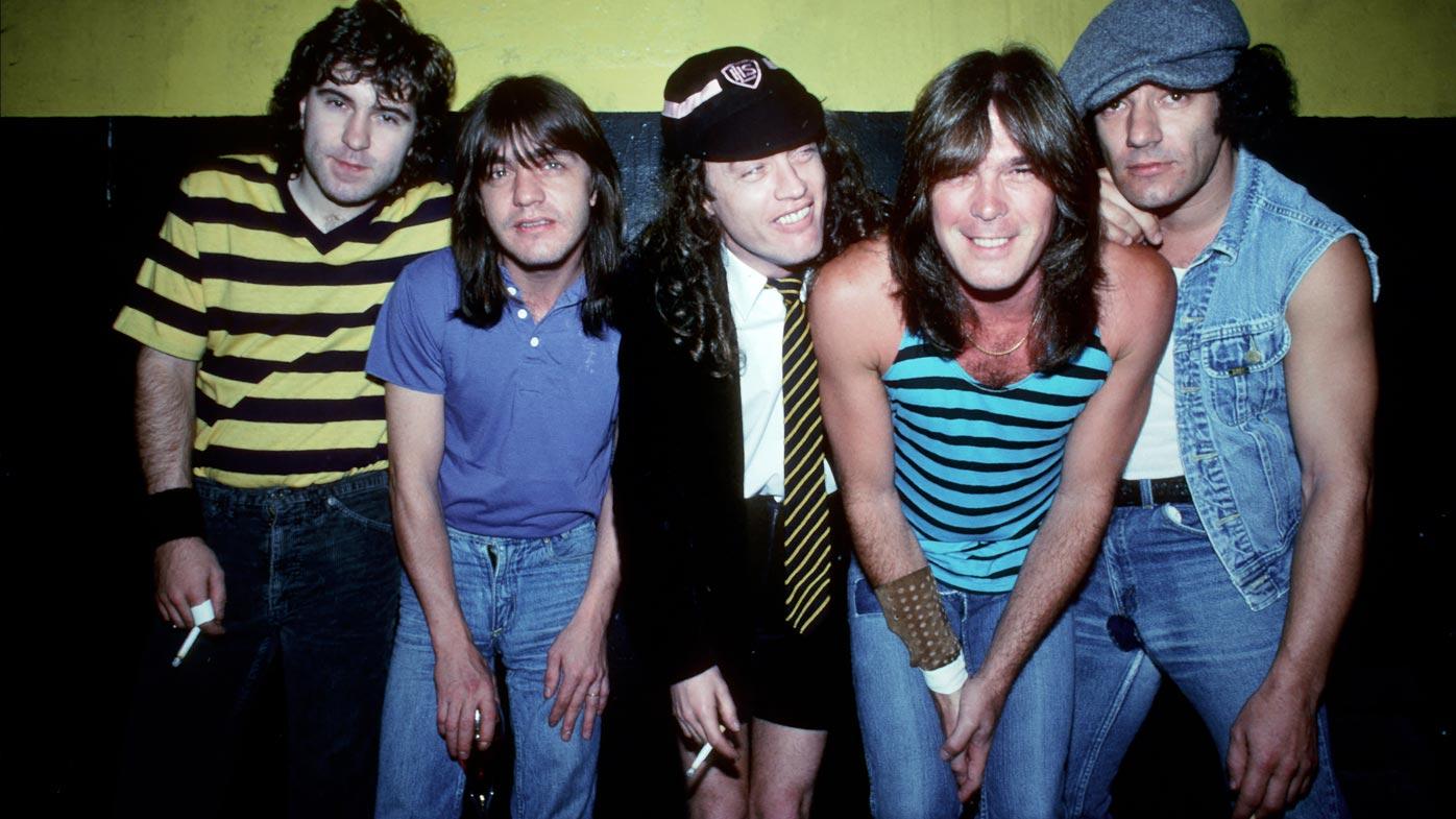 AC/DC. (Getty)