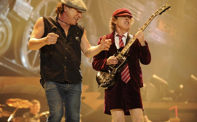 Brian Johnson 'kicked to the curb' from AC/DC