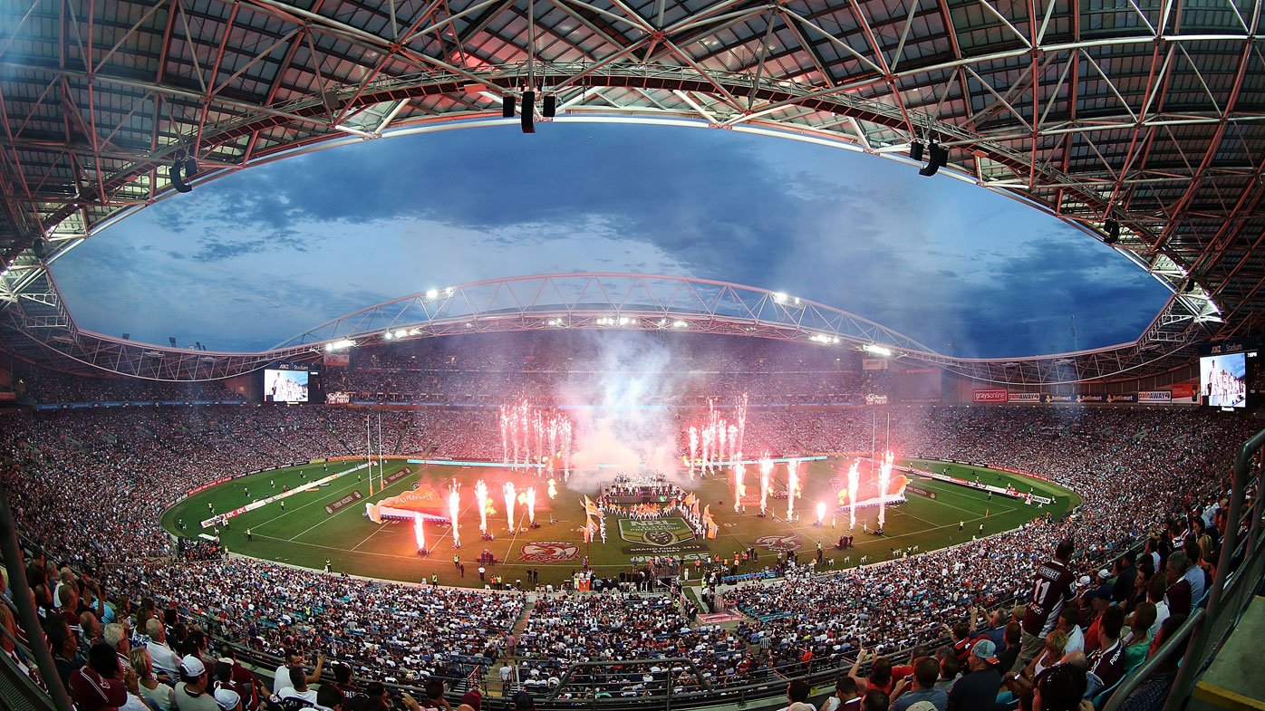 The cost of renovating ANZ Stadium has ballooned. (AAP)