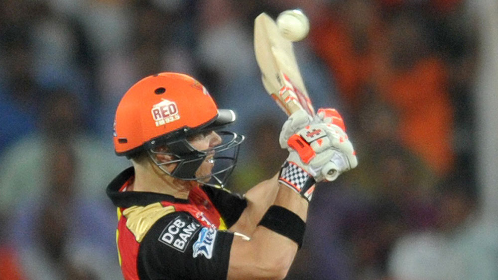 Warner guides Sunrisers to first IPL win