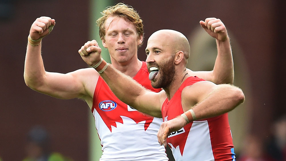 Swans beat Eagles by 39 points in AFL