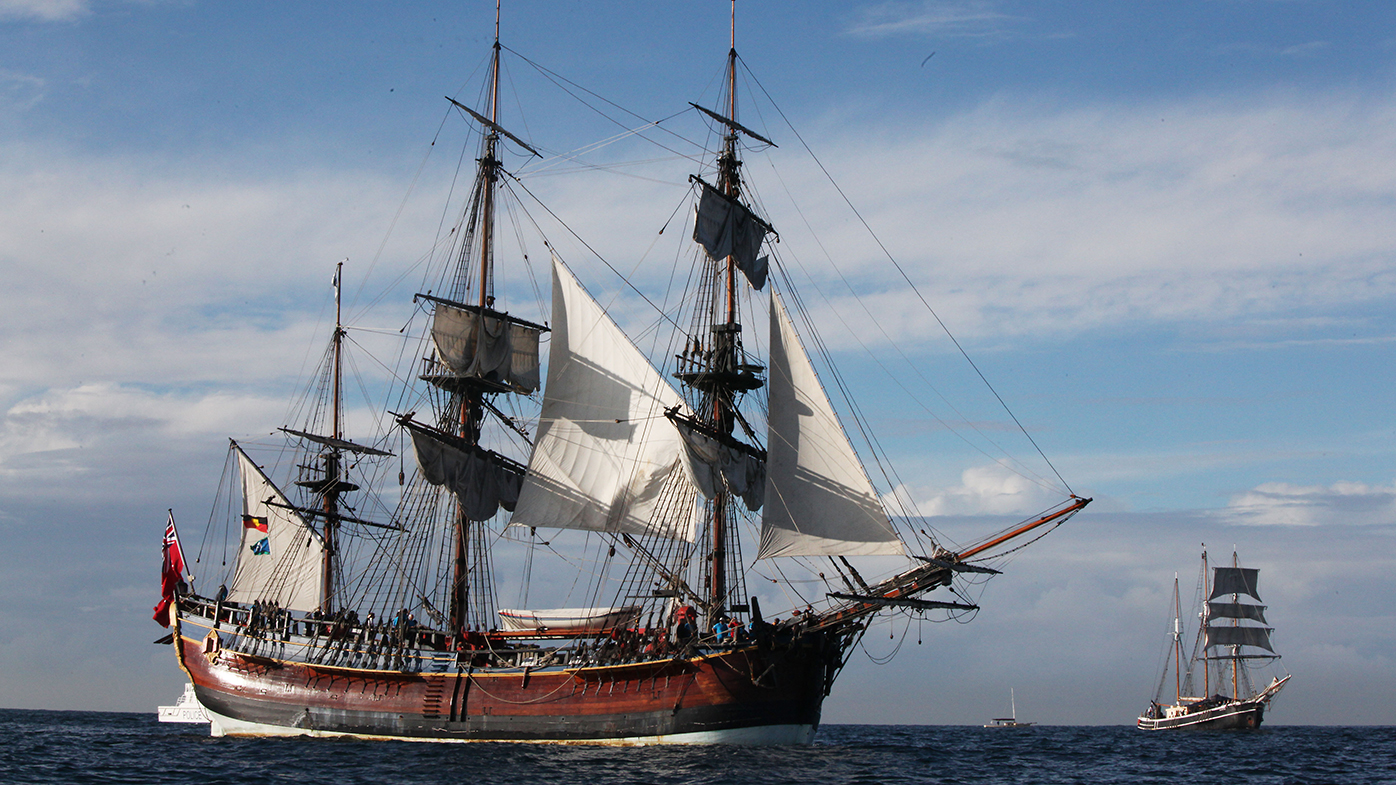Captain Cook's ship Endeavour may have been discovered in US