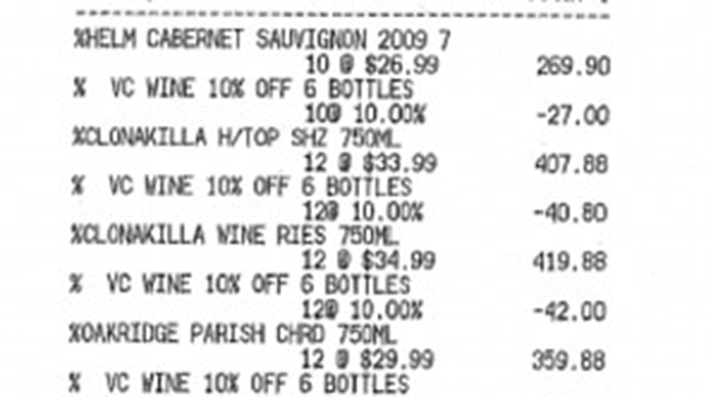 Tony Abbott's $7000 wine list revealed after 13-month campaign