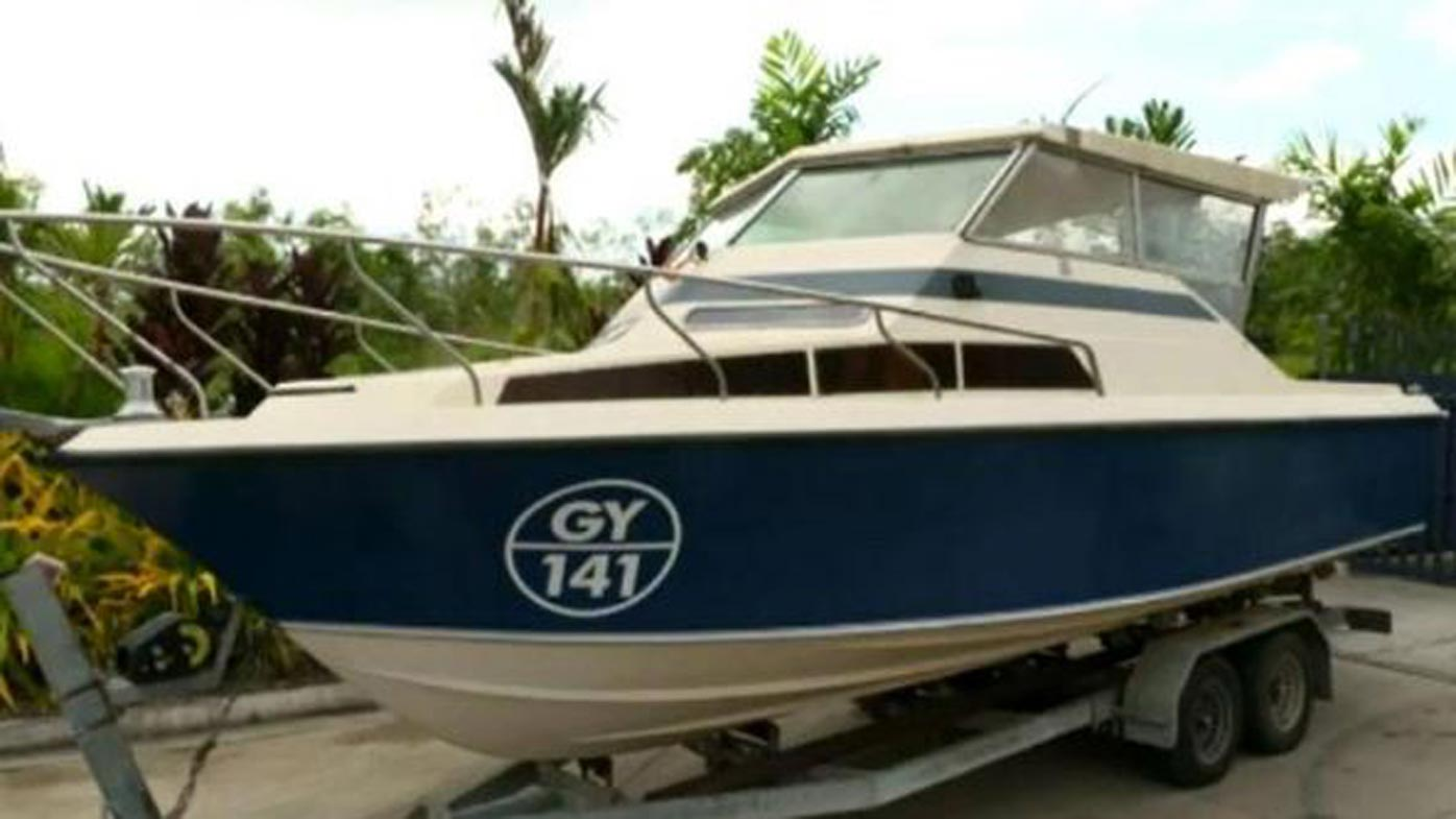 This small fishing boat was allegedly part of the plot to flee to Syria.