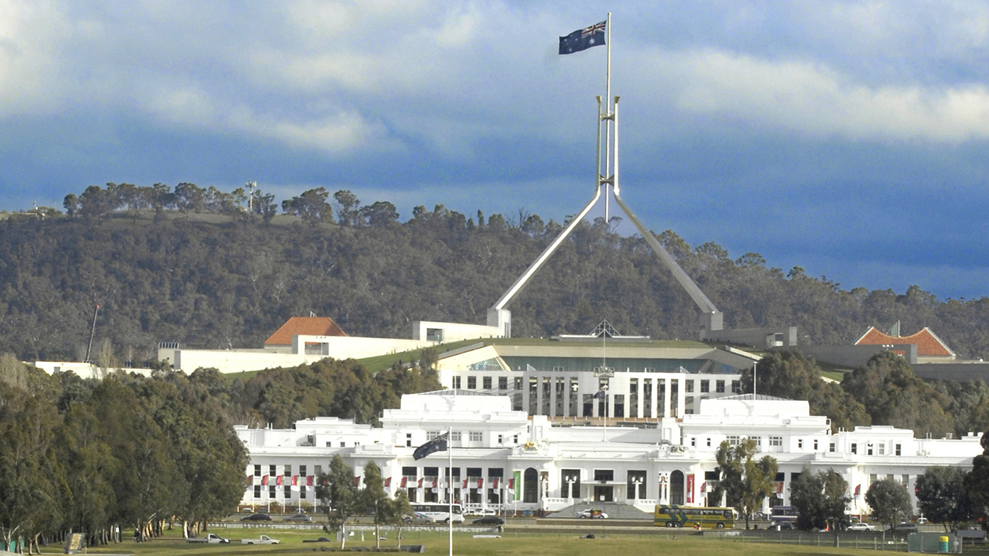 Parliament House in Canberra. (AAP)