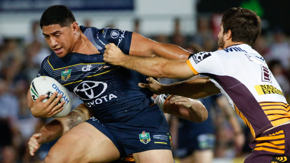 The Rams will probably not be there to watch Jason Taumalolo's trial. (AAP)